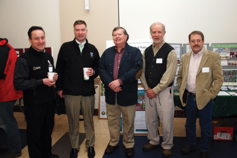 2013 Watershed Summit Speakers with Peter Lopez and Chris Gibson